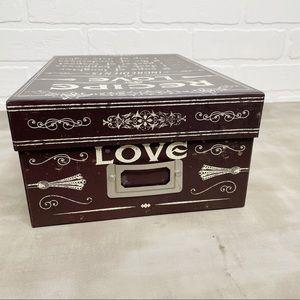 Pela Studios keepsake photo gift box recipe love